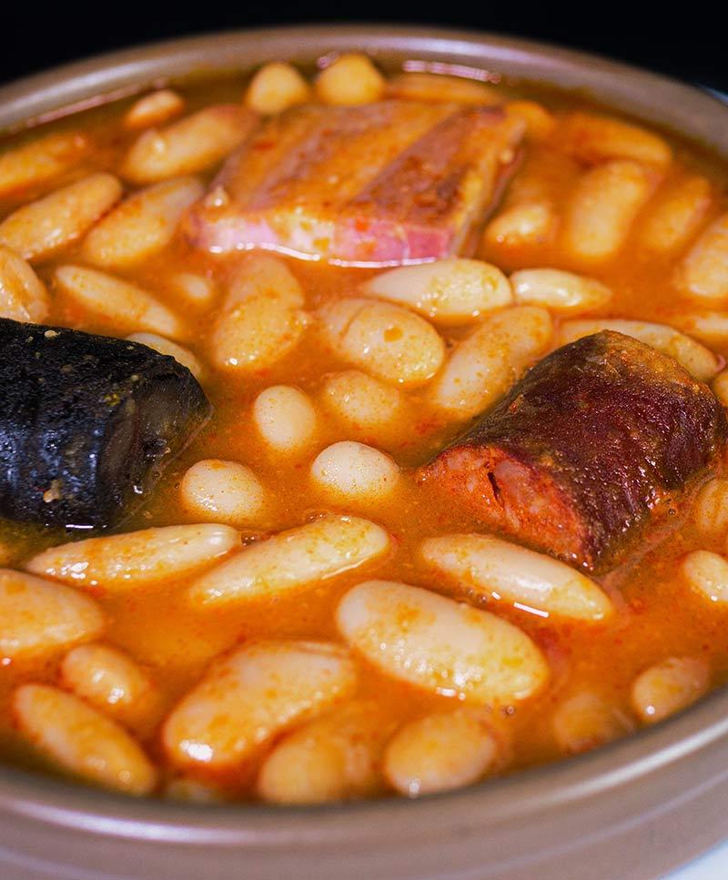 Fabes asturianas | Restaurante Carlos Tartiere Madrid